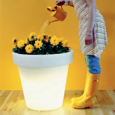 Pot Lumineux Bloom 60 Blanc Bloom! JardinChic