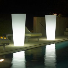 Pot Ilie Lumineux Piscine Neutre Euro3Plast JardinChic