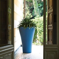 Pot Ming Extra High Bleu Serralunga JardinChic