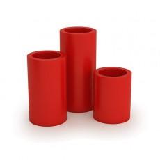 Pots Hebe 50 + 70 + 89 Rouge Pdconcept Jardinchic