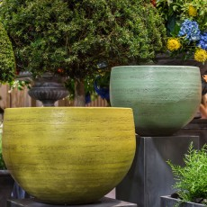 Pots Nuuk Lemon Yellow et Mint Green Domani Jardinchic