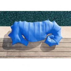 Pouf Hippocampe Bleu Marine MxHome Jardinchic
