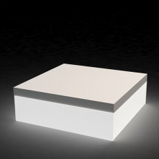 Pouf quadrat lumineux