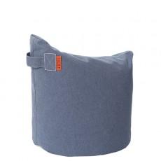 Pouf Satellite H48cm Blue Jeans Trimm Copenhagen Jardinchic