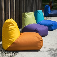 Poufs Tube Sunrise, Valley, Lake et Sea Pusku Pusku Jardinchic