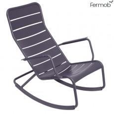 Rocking-Chair Luxembourg Prune Fermob Jardinchic