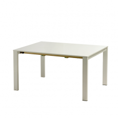 Table Allongeable Round Plateau en tôle Blanc Emu JardinChic