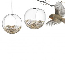 Set de 2 Mini Bird Feeders Eva Solo Jardinchic