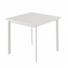Table carrée Star 70cm Blanc Emu JardinChic