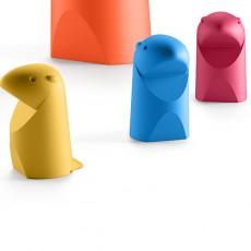 Statuettes Mini Marmotta Jaune, Bleu et Rouge Plust Jardinchic