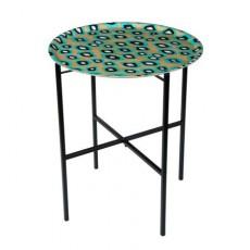 Table Coco Ikat Turquoise Mariska Meijers JardinChic