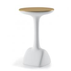 Table de Bar Armillaria Blanc Plateau vendu séparément Plust Jardinchic