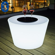 Table Basse Lumineuse Bass Bluetooth® Smart And Green Jardinchic