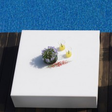 table basse quadrat detail Vondom JardinChic
