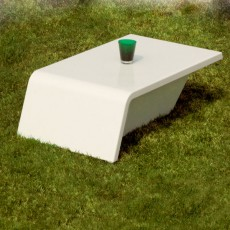 Table Basse Rest Gris Anthracite Vondom JardinChic