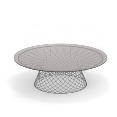 Table Basse Ronde Ø120 Heaven Aluminium Emu JardinChic