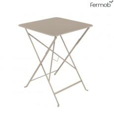 Table Bistro 57 x 57cm Muscade Fermob Jardinchic