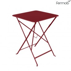 Table Bistro 57 x 57cm Piment Fermob Jardinchic