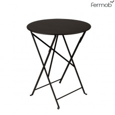 Table Bistro Ø60cm Carbone Fermob Jardinchic