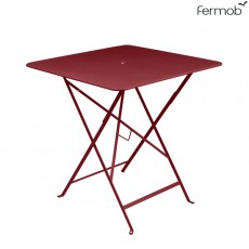 Table Bistro 71 x 71cm Piment Fermob Jardinchic