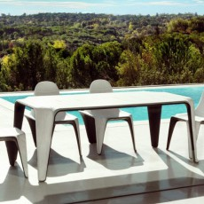 Table F3 Vondom Jardinchic (attention version bicolore laquée sur demande)