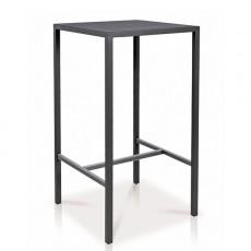 Table Mange-Debout Quadrix Anthracite Vlaemynck Jardinchic