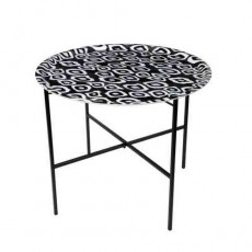 Table Cococ Ikat Noir Mariska Meijers JardinChic