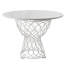 Table Re-Trouvé  Blanc Emu JardinChic
