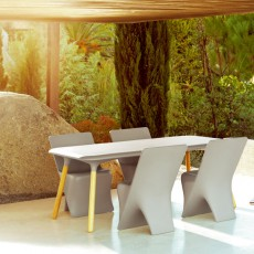 table-rectangle-piètement-iroko-sloo-vondom-jardinchic2