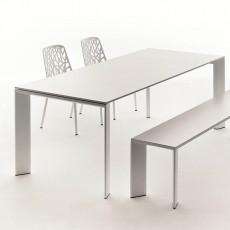 Table Rectangulaire A Rallonge L270cm & Banc Grande Arche Fast JardinChic