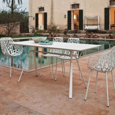 Table Rectangulaire L150cm Radice Quadra Fast JardinChic