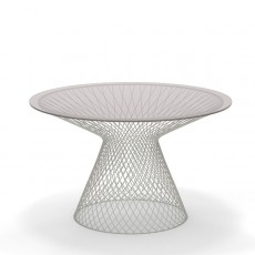 Table Ronde Ø 120 Heaven Blanc Cassé Emu Jardinchic