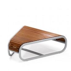 Table Basse d'Angle Tandem Teck EGO Paris JardinChic