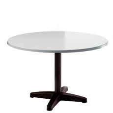 Table Happy Hour Ronde Ø120cm Plateau Werzalité blanc Magis JardinChic