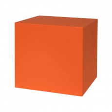 Tabouret Kube Orange Euro3Plast JardinChic