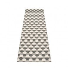 Verso Tapis Dana Warm Grey - Charcoal - Vanilla 70x250 Pappelina JardinChic