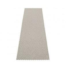 Tapis Will Charcoal - Vanilla 70x250 Pappelina JardinChic