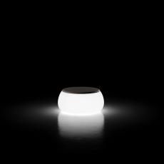 Table Basse Lumineuse T-Ball Plateau Polyéthylène Plust Jardinchic
