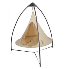 Trépied Métal pour Tentes Cacoon avec Tente Cacoon Double Blanc Hang-in-Out JardinChic