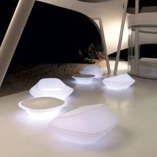 Salon de Jardin Ufo Light Canapé, Fauteuil et Table basse Vondom JardinChic