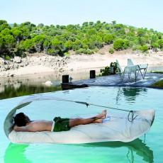 Bain de Soleil Vaurien Flottant Ambiance Piscine Dvelas Jardinchic