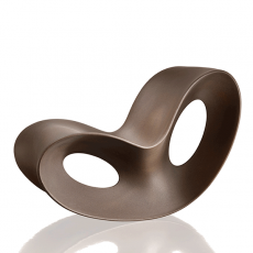 Rocking Chair Voido Brun Corten Opaque Magis JardinChic