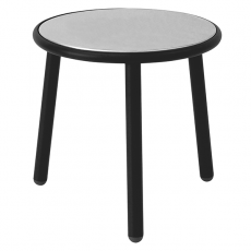 Table Basse Plateau Inox Yard Noir Emu JardinChic