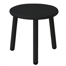 Table Basse Plateau Aluminium Yard Noir Emu JardinChic
