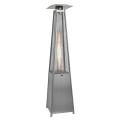 Chauffage d'Extérieur Flame Tower Acier Inox
