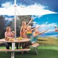 Option Fixation Parasol InUmbra pour Table Gargantua