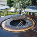 Grille Centrale Réglable pour Fusion Bois