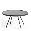 Table Basse Attol Aluminium Ronde
