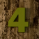 Numéro de Maison Bingo en Vert Jardinchic