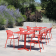 Chaises & Table Carrée Pliante Darwin Emu JardinChic